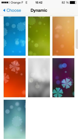 Download 07 iOS7 leafdynamic Wallpaper 1.0