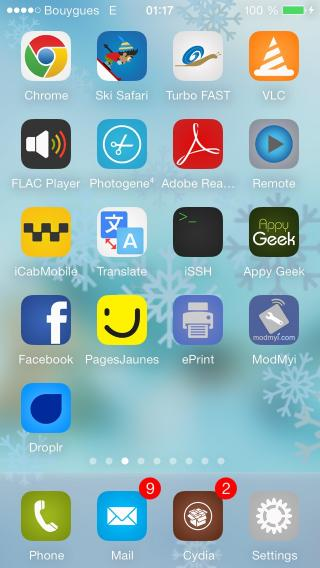 Download 07 iOS 7 Snowdynamic Wallpaper 1.1