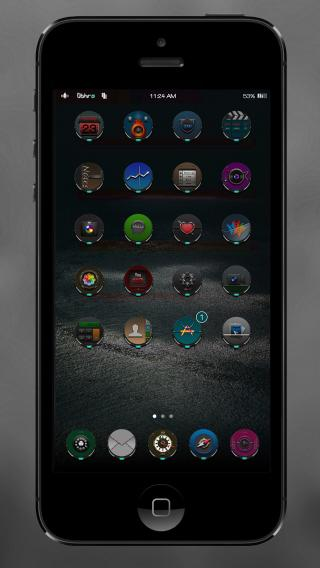 Download 0bHrA Cyan BlacK 8 1.0