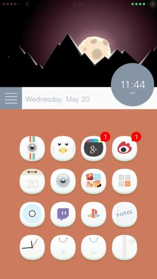 Download 0bvious iOS7 iWidgets 1.0