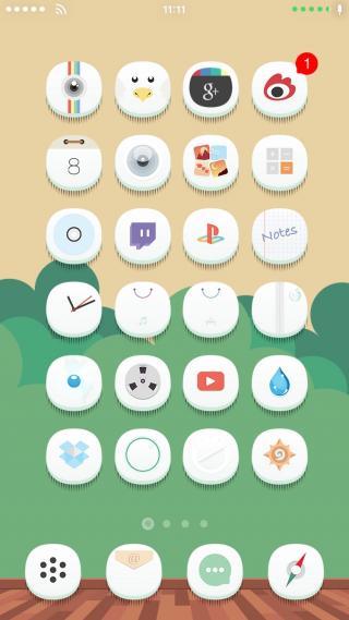 Download 0bvious iOS7 UI 1.0