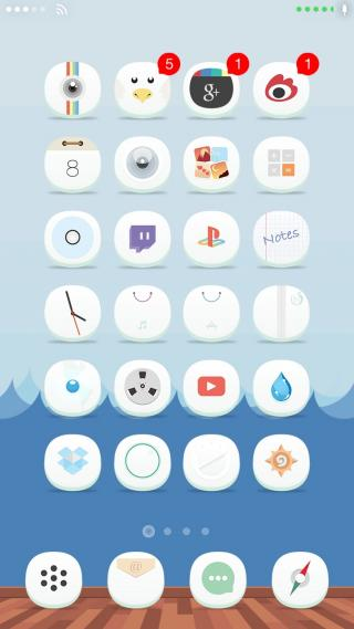 Download 0bvious iOS8 ClassicDock 1.0.1