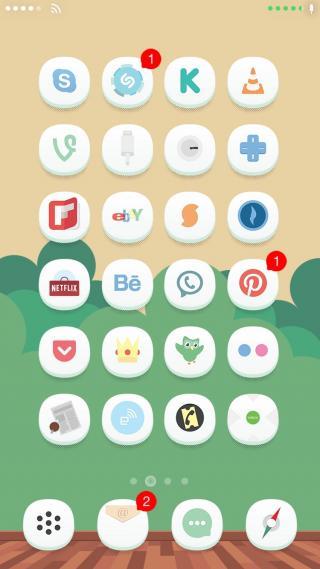 Download 0bvious iOS8 FoldersIcons 1.0