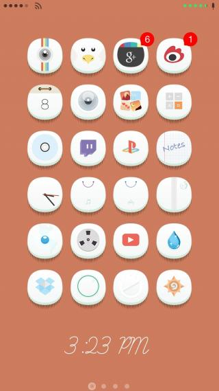 Download 0bvious iOS8 icons shadows 1.0