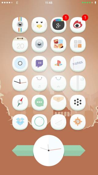 Download 0bvious iOS8 iWidgets 1.0