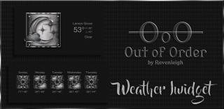 Download 0ut of 0rder Weather iWidget 1.0