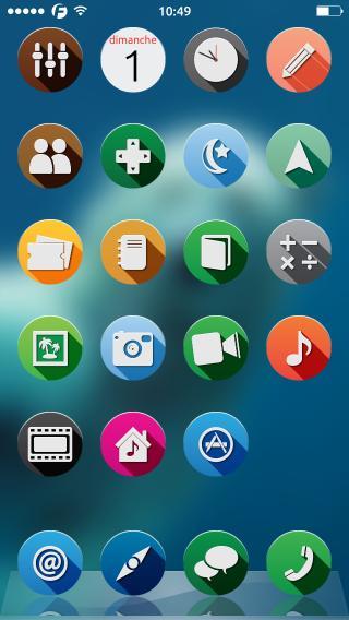 Download 0xygen iOS7 iPhone iconomatic 1.0