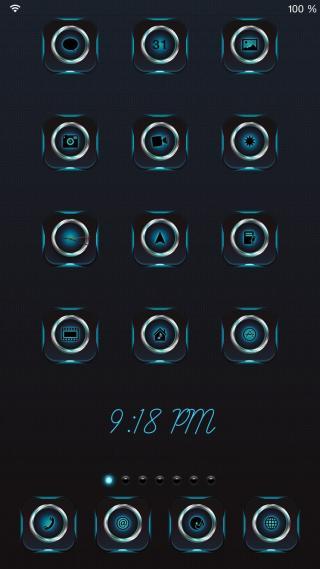 Download 1mpress iOS8 iconOmatic 1.0