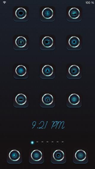 Download 1mpress iOS8 iPad wallpapers 1.0