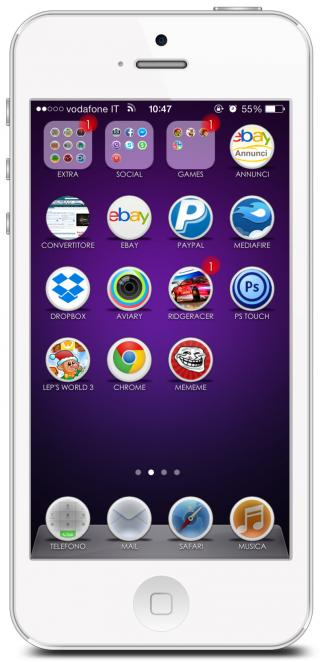 Download 1nCircleHD IconOmaticShadows 1.0