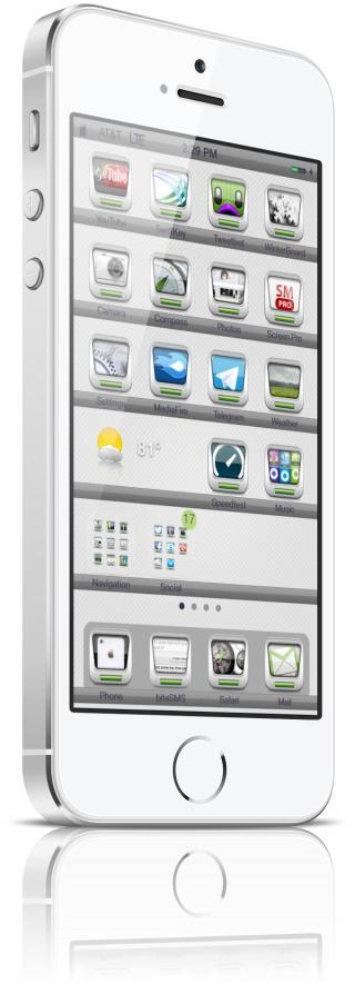 Download 1nfect3d 7 iWidget Weather Icon 1.0