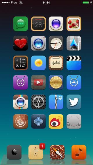 Download 1nka ios8 ClassicDock 1.0.1