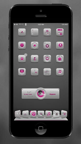 Download 1Vory Pink iOS8 1.0