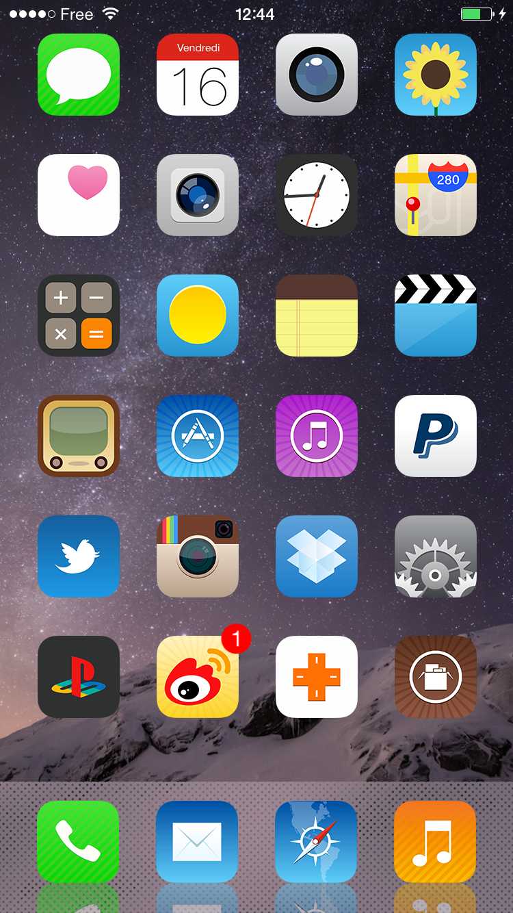 Download BlackEdition ios8 iconOmatic 1.0