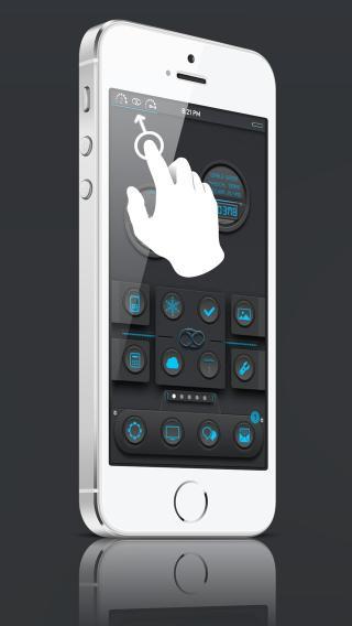 Download 69 Blue iOS7 Zeppelin 1.0