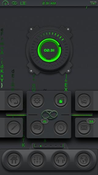 Download 69 i4 Animated Clock iWidget 1.0
