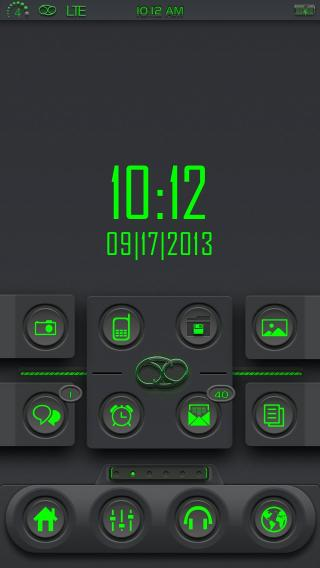 Download 69 i4 Matrix Digital Clock iWidget 1.0