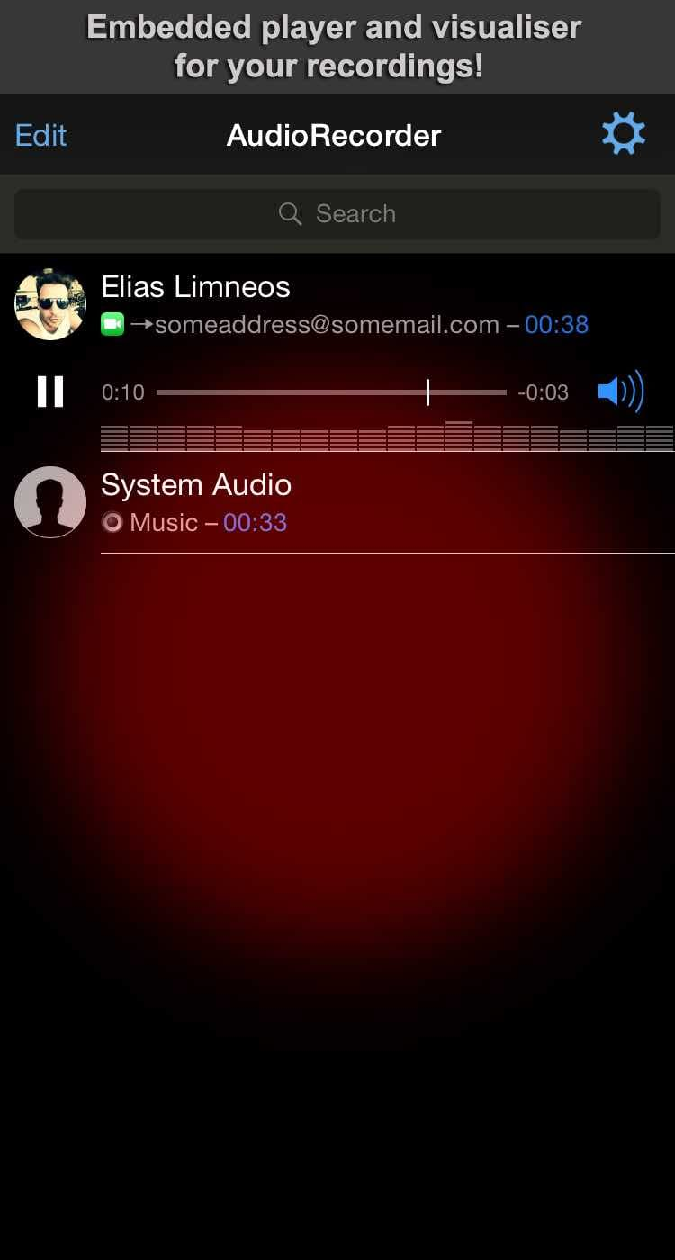 Download AudioRecorder XS (iOS 12) 3.2-23k