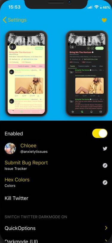Download TwitterCustomiserPro 0.0.0.1