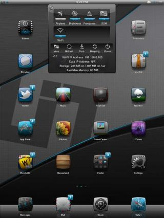 Download A 2UINique iPad Theme 1.4
