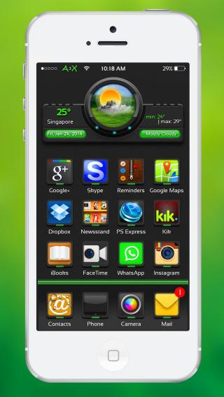 Download A3X-Green 1.0