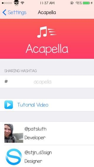 Download Acapella 1.1-4