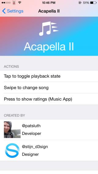 Download Acapella II (iOS 8.4+) 1.1-14k