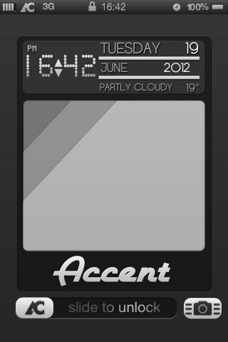 Download Accent LS Clock and Userpic 1.0