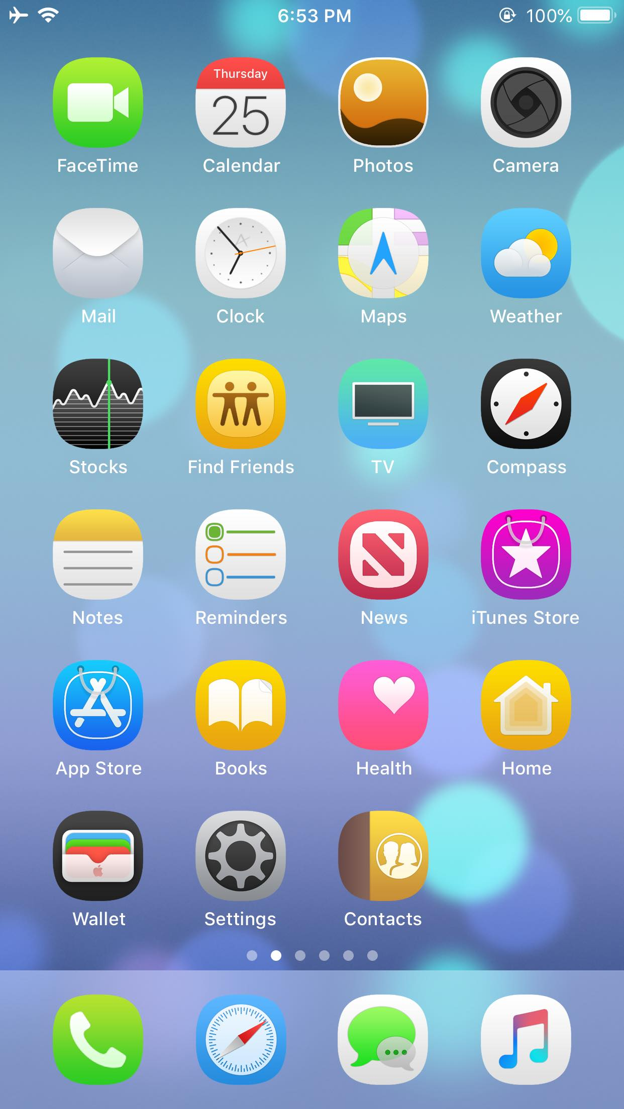 Download Ace iOS 12 Theme 1.0
