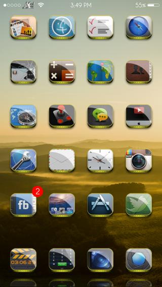 Download AcT-8 IconO Pack 1.0