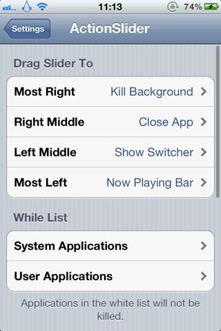 Download ActionSlider for Notification Center 2.2.1-1