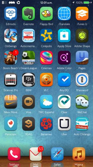 Download AfterOS 8 Wallpapers iP6 1.0