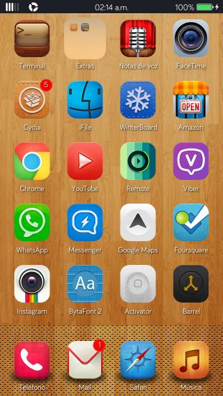 Download AfterOS Wallpapers iP5 - 5s 1.0