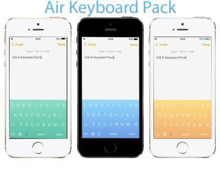 Download Air Keyboard Pack iOS 6 1.4