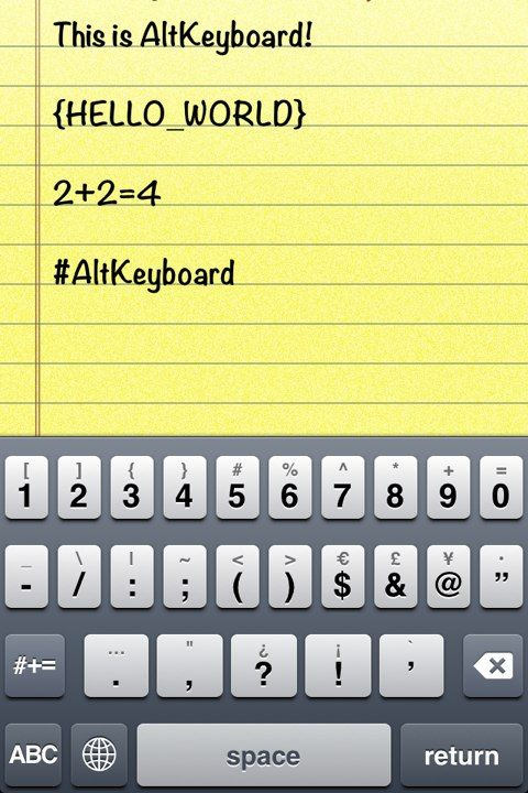 Download AltKeyboard 1.0.0a