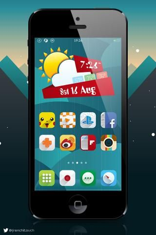 Download Ambre ios8 icons Add-on 1.0.9