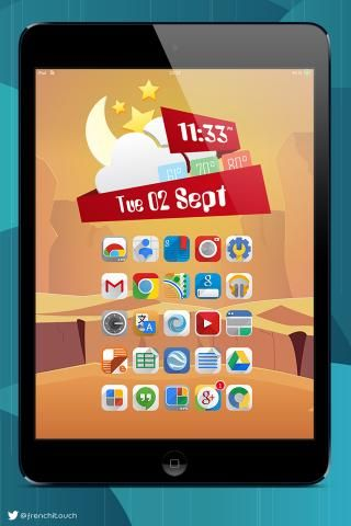 Download Ambre ios8 iWidgets ipad 1.0