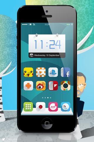 Download Ambre ios8 iWidgets iphone 1.0
