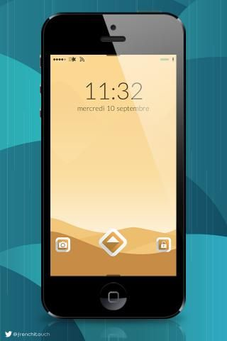 Download Ambre ios8 JellyLock 1.0