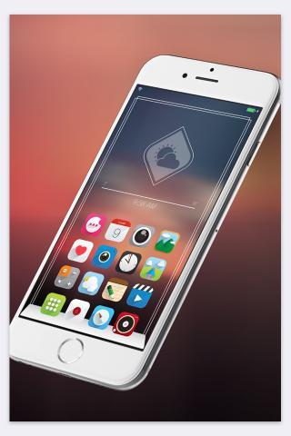 Download Ambre iOS8 MagicDots 1.0