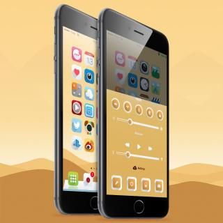 Download Ambre iOS8 Vex 1.0