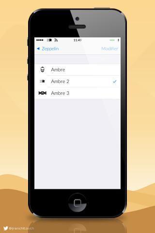 Download Ambre ios8 Zeppelin 1.0