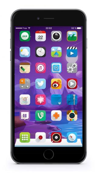 Download Ambre iOS9 DailyIcons 1.0
