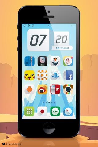 Download Ambre iOS9 MagicDots 1.0