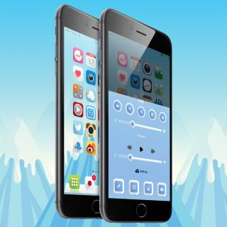Download Ambre iOS9 Vex mod 1.0