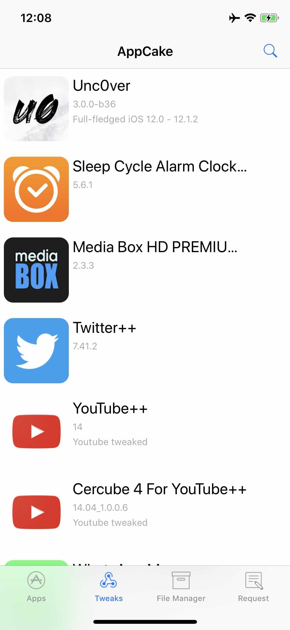 Download AppCake 6 6.1.3