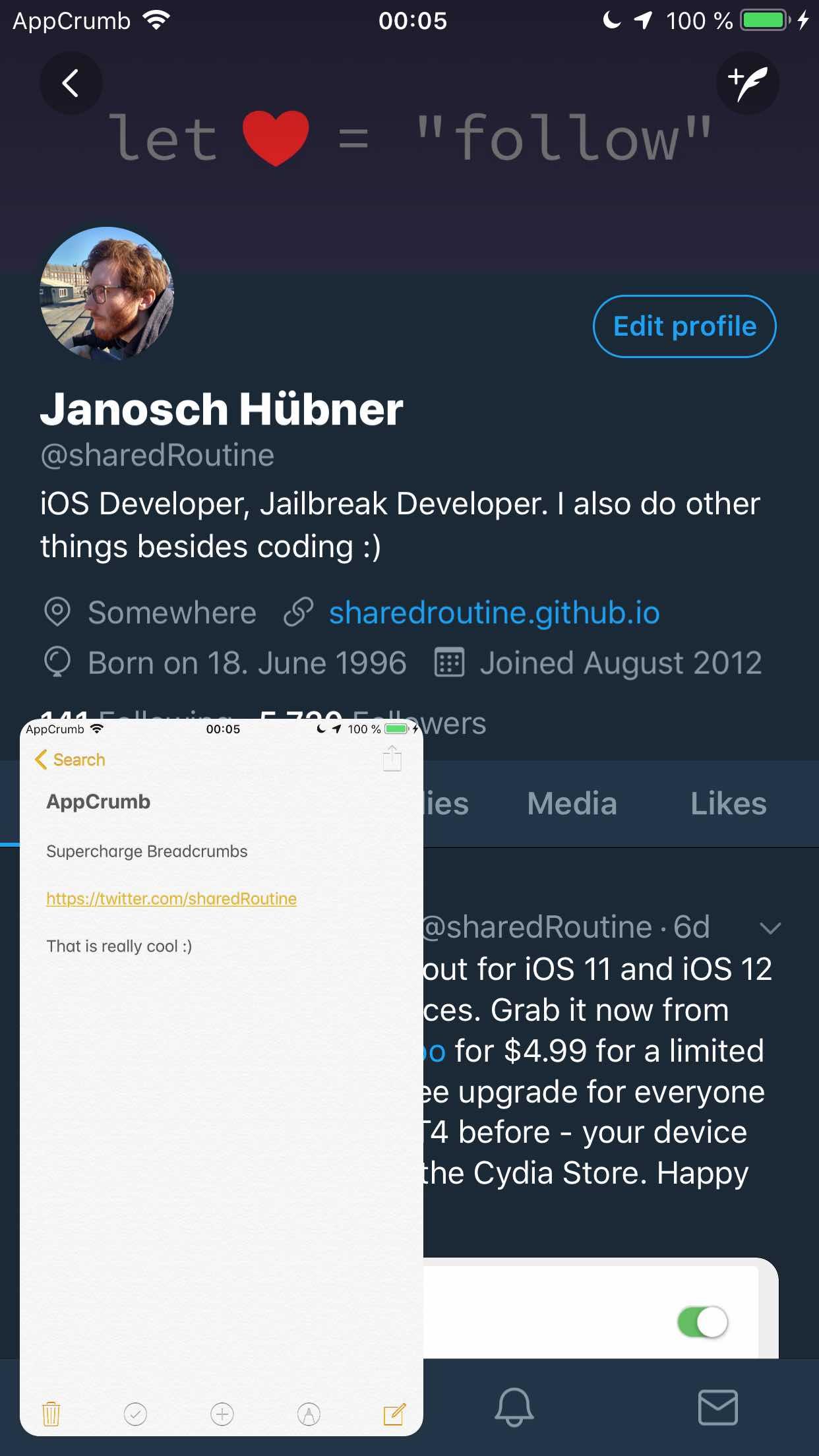 Download AppCrumb 1.0