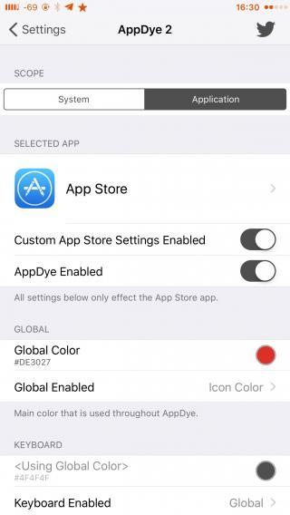Download AppDye 2 (iOS 9) 1.0.1k