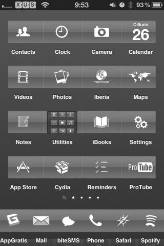 Download Apple HD 2 Theme 1.5