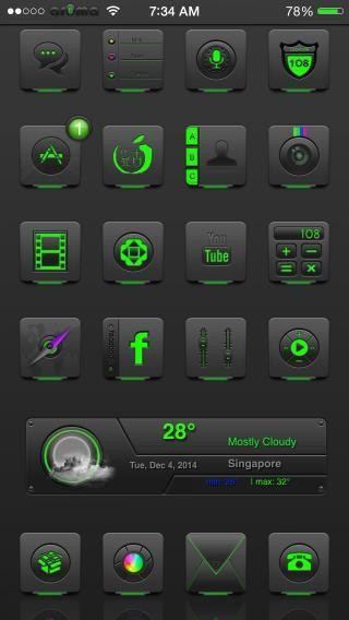 Download Ar0ma Green iOS8 1.0